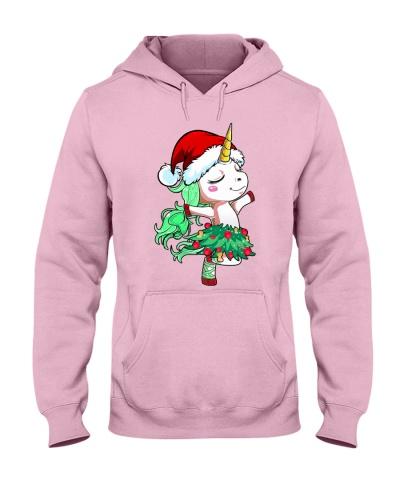Unicorn Christmas Tree Dance Christmas Gift
