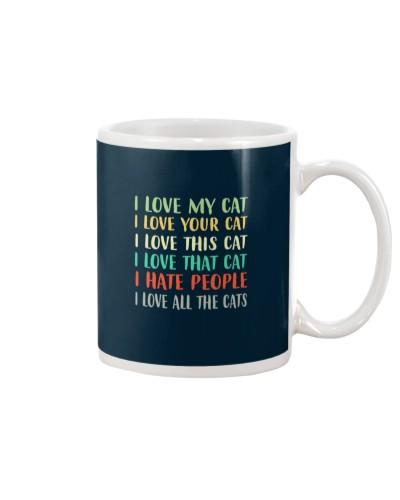 Cat I Love My Cat