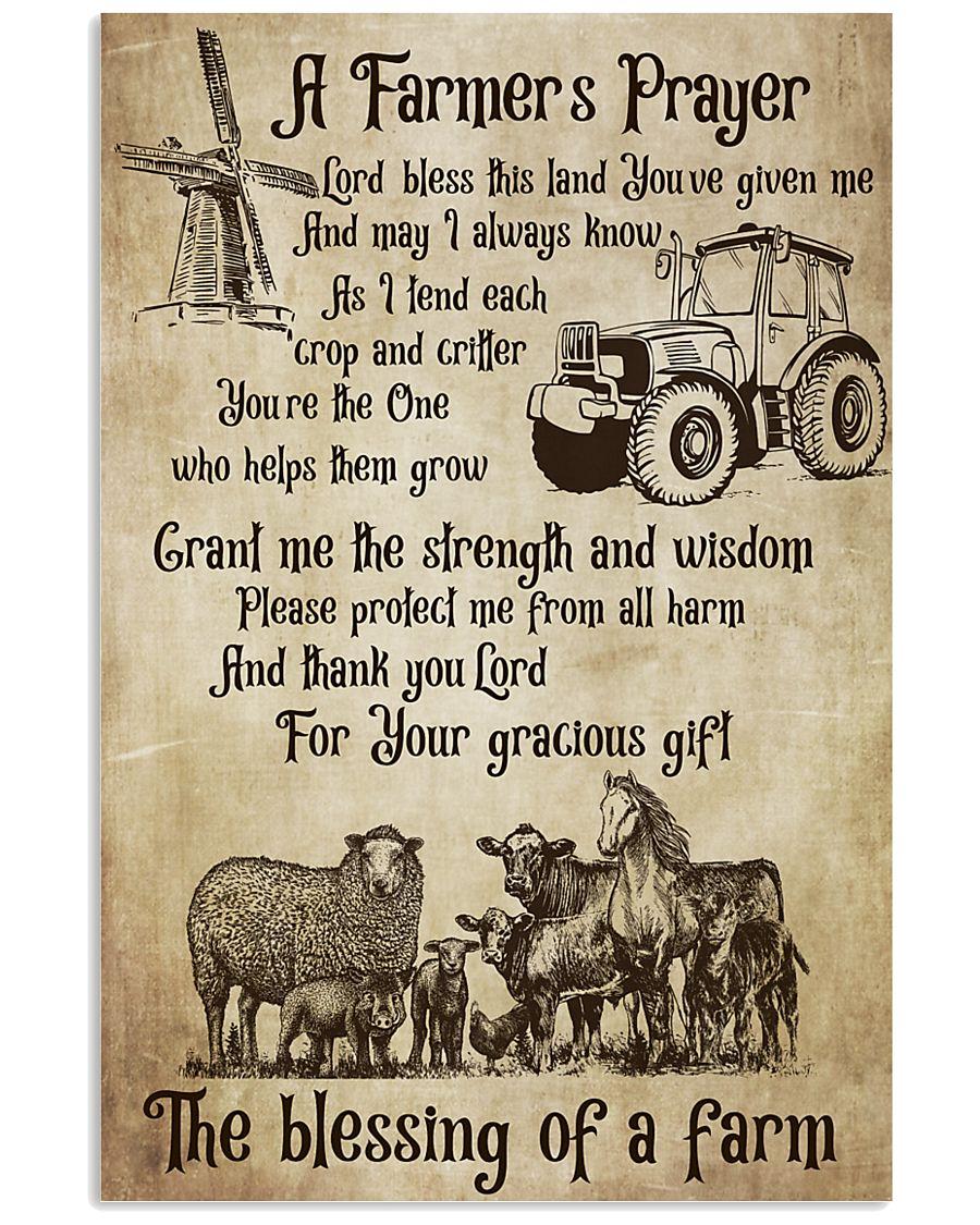 Farmer A Farmer Prayer's 16x24 Poster
