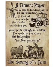 Farmer A Farmer Prayer's 16x24 Poster front