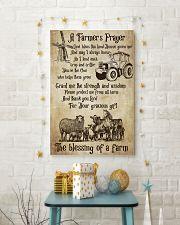 Farmer A Farmer Prayer's 16x24 Poster lifestyle-holiday-poster-3