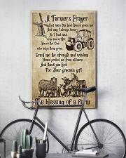 Farmer A Farmer Prayer's 16x24 Poster lifestyle-poster-7