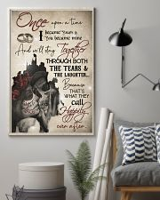Skull Once Upon A TIme I Became Your  16x24 Poster lifestyle-poster-1