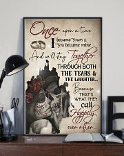 Skull Once Upon A TIme I Became Your  16x24 Poster lifestyle-poster-2