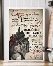 Skull Once Upon A TIme I Became Your  16x24 Poster lifestyle-poster-4