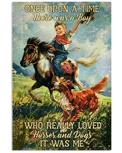 Horse Once Upon A Time Boy
