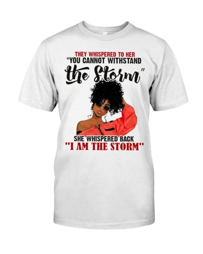 Afro I am the storm