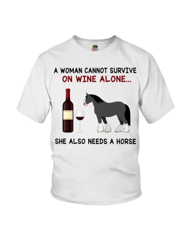 Horse Shire A Woman