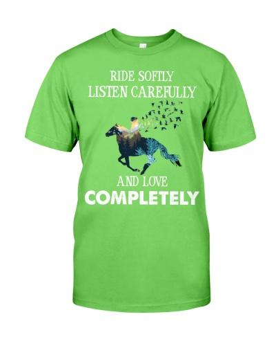 Horse Ride Softly Listen Carefully