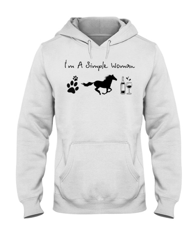 Horse I'm a simple woman