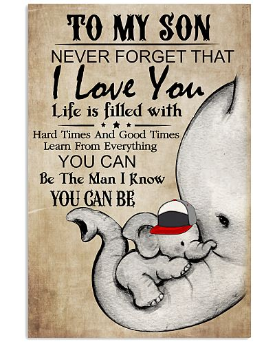 Elephant To My Son Never Forget I Love You