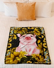 """Limited edition Small Fleece Blanket - 30"""" x 40"""" aos-coral-fleece-blanket-30x40-lifestyle-front-04"""