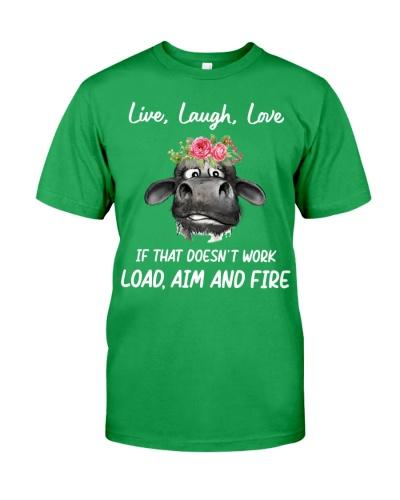 Cow Live Laugh Love