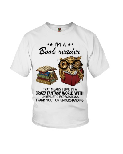 Owl I'm A Book Reader