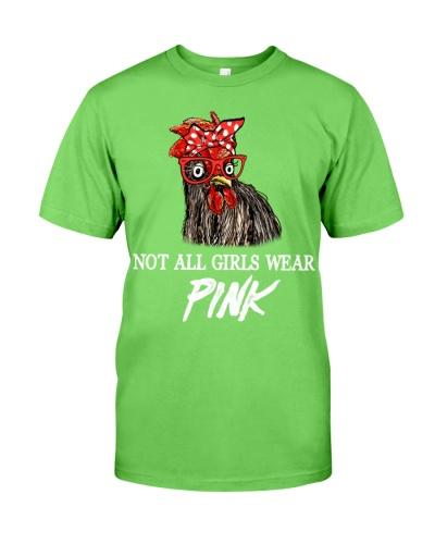 Chicken Not All Girl Wear Pink