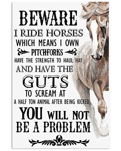 Horse Beware I Ride Horses