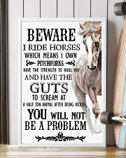Horse Beware I Ride Horses  16x24 Poster lifestyle-poster-4
