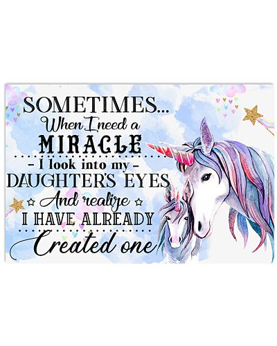 Baby Unicorn Sometimes When I Need A Miracle