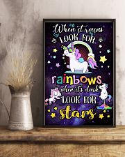 Baby When I Look For Rainbows When It's Dark 11x17 Poster lifestyle-poster-3
