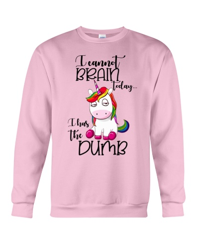 Unicorn I cannot brain today Funny