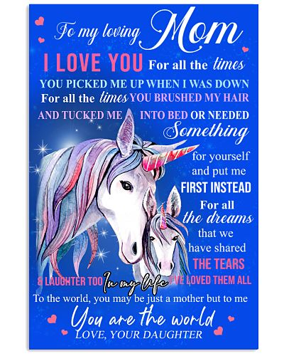 Unicorn To My Loving Mom