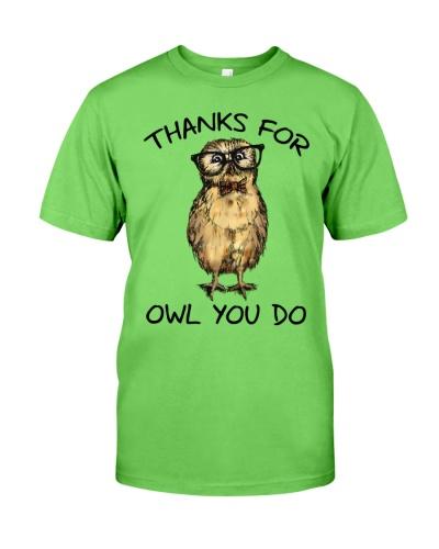 Owl Thanks For Owl You DO
