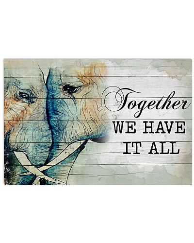 Elephant Together We Have It All