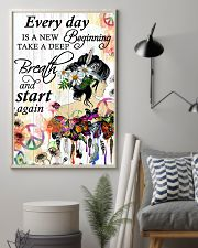 Hippie Everyday is a new beginning 16x24 Poster lifestyle-poster-1