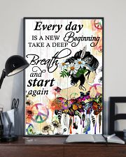 Hippie Everyday is a new beginning 16x24 Poster lifestyle-poster-2