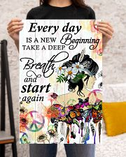 Hippie Everyday is a new beginning 16x24 Poster poster-portrait-16x24-lifestyle-18