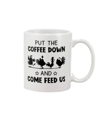 Chicken Put The Coffee Down