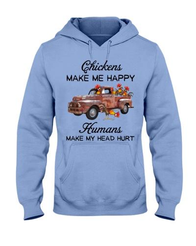 Chicken Chickens Make Me Happy