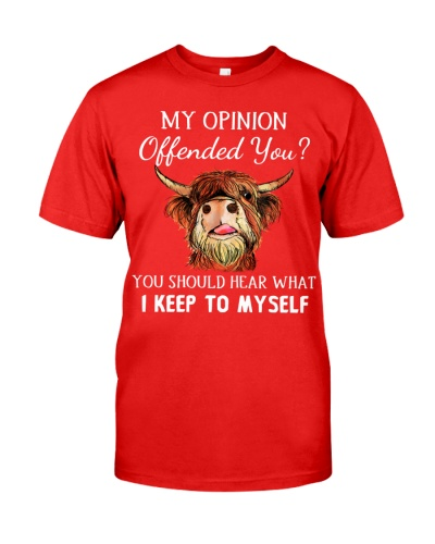 Cow My Opinion Offended You