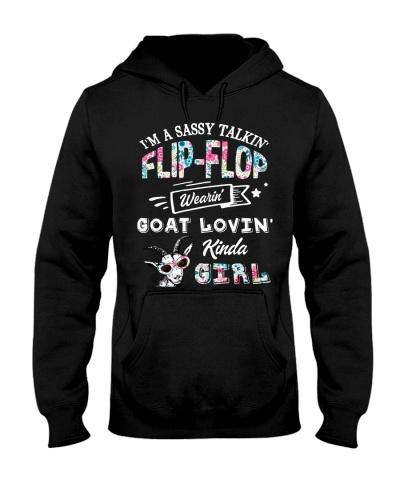 Goat I'm A Sassy Talkin' Flip Flop