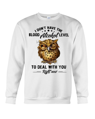 Owl I don't have the blood alcohol level