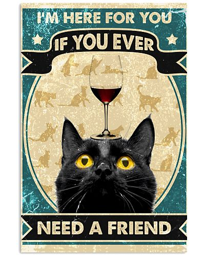 Cat I'm Here For You If You ever
