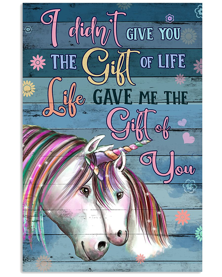 Unicorn I Didn't Give You  16x24 Poster
