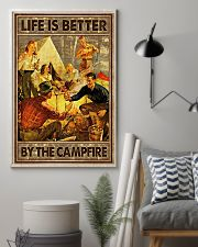 Life is better by the campfire 16x24 Poster lifestyle-poster-1