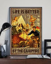 Life is better by the campfire 16x24 Poster lifestyle-poster-2