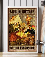 Life is better by the campfire 16x24 Poster lifestyle-poster-4