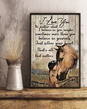 Horse All of me loves all off you Tee 11x17 Poster lifestyle-poster-3
