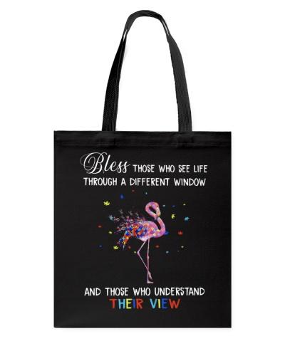 Flamingo Autism Bless Those Who