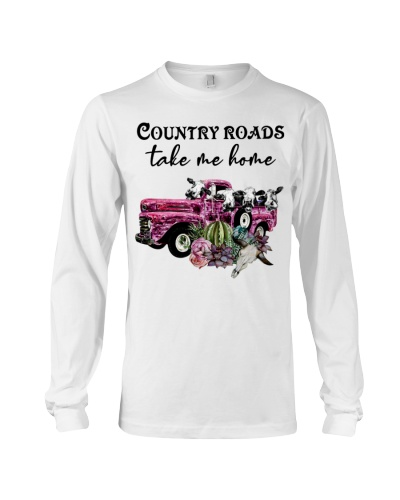 Cow Country Roads Take Me Home