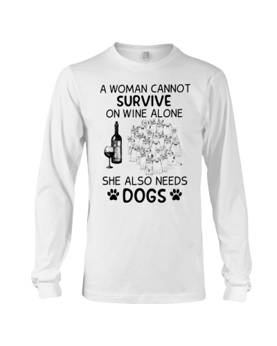 Dog A Woman Cannot Survive She Also Need Dogs