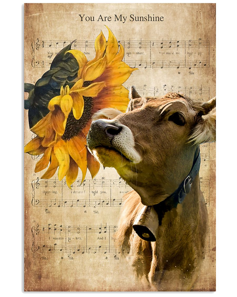 Cow You Are My Sunshine 16x24 Poster