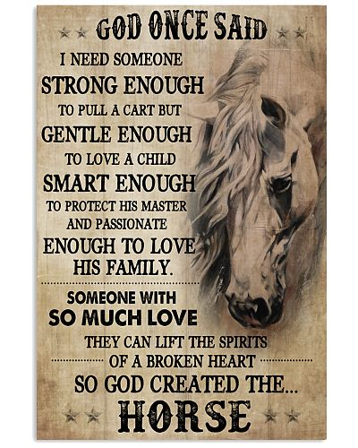 Horse God Once Said I Need Someone