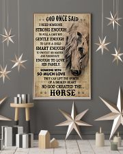 Horse God Once Said I Need Someone 16x24 Poster lifestyle-holiday-poster-1