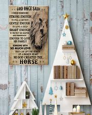 Horse God Once Said I Need Someone 16x24 Poster lifestyle-holiday-poster-2