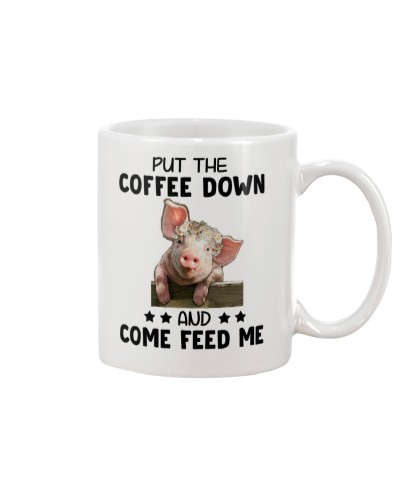 Pig Put The Coffee Down