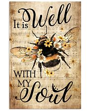 Hippie It is Well with My Soul  16x24 Poster front